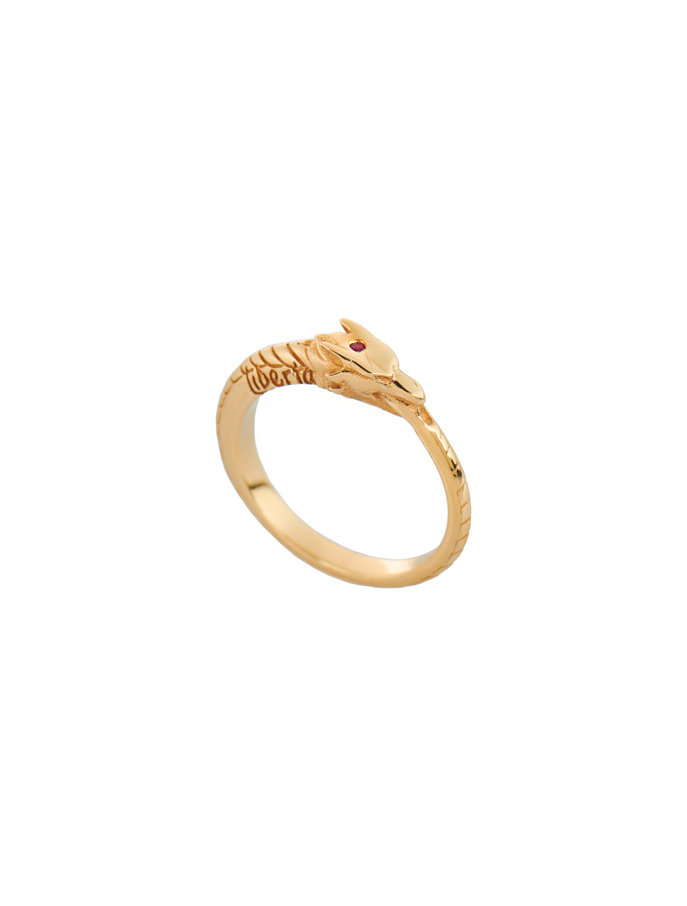 Gold-Urovoros-Dragon-ring-with-ruby2